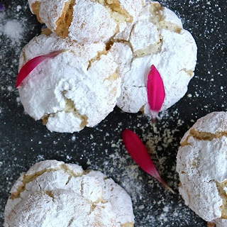In Memory - Soft Italian Amaretti Cookies (gluten and dairy free).