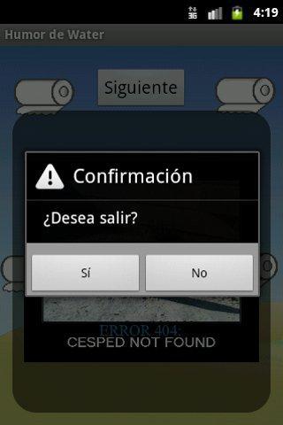 Humor de Water screenshot 2