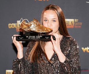 """Gouden Schoen De Caigny begon op jonge leeftijd als ballerina: """"Toen ze wilde voetballen, was dat al een eerste verwondering"""""""