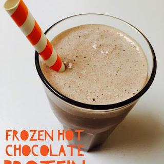 Frozen Hot Chocolate Protein Smoothie