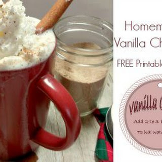 Homemade Vanilla Chai Mix From Scratch- Great For Gift Giving!