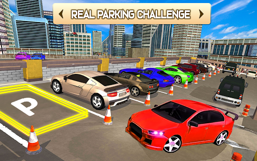 US Smart Car Parking 3D - City Car Park Adventure  screenshots 5
