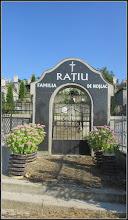 Photo: Str. Nicolae Vlăduţiu,  mormintele Fam Ratiu - 2016.09.08