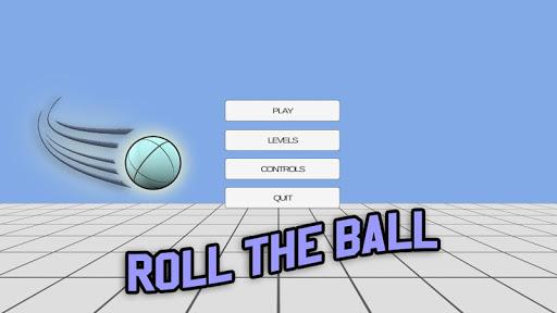 ボールを転がします