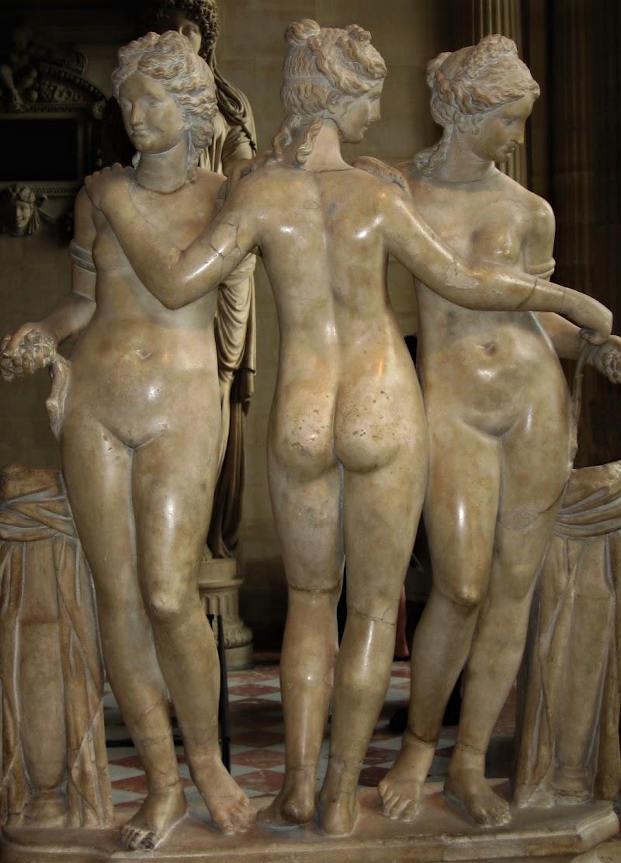 Tre Grazie al Louvre di marvig51