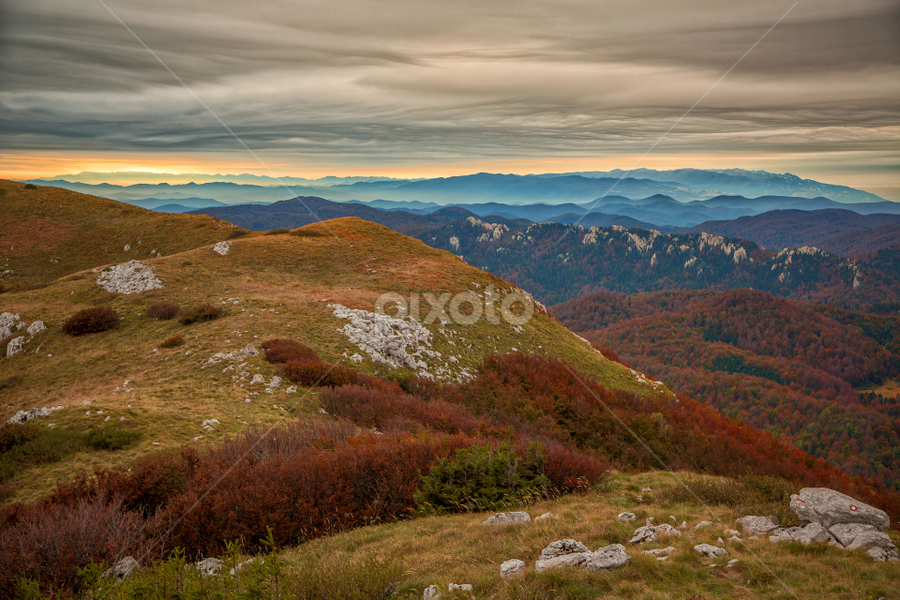 Fall in the mounatins of Gorski kotar by Stanislav Horacek - Landscapes Mountains & Hills