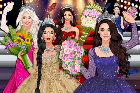 Beauty Queen Dress Up – Star Girl Fashion 1