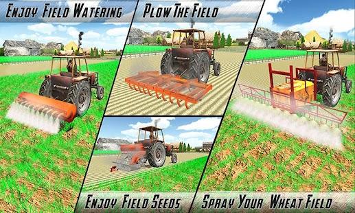Real zemědělství Traktor Sim - náhled
