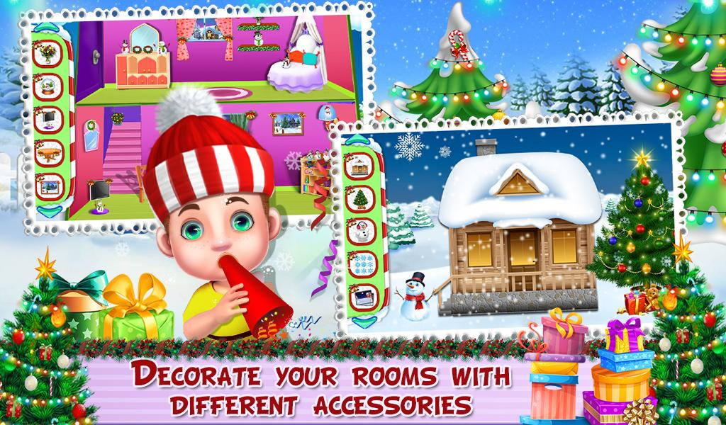 Room Decoration in Christmas- screenshot