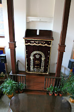 Photo: The ark inside the Synagogue