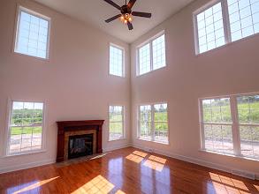 Photo: The great room in the PRESTON
