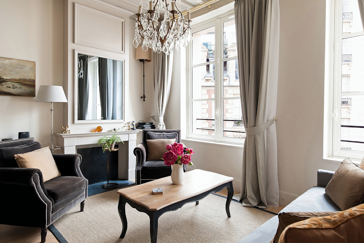 Living room at Castillon - Place Dauphine