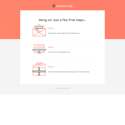 Landing page templates by leadpages double opt in confirmation preview template fandeluxe Choice Image