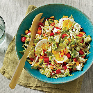 Summer Chopped Salad with Quick-Pickled Vegetables.