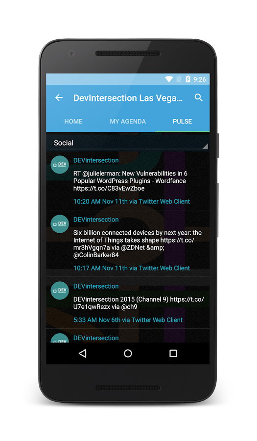 EventsXD- screenshot
