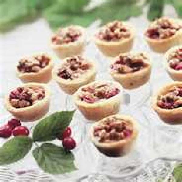 Cranberry-almond Tarts Recipe