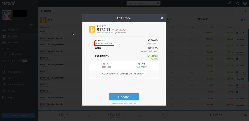 etoro cryptocurrency wallet