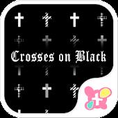 Crosses on Black for[+]HOME