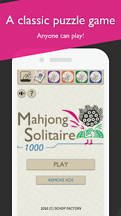 Download MahjongSolitaire1000 For PC Windows and Mac apk screenshot 2