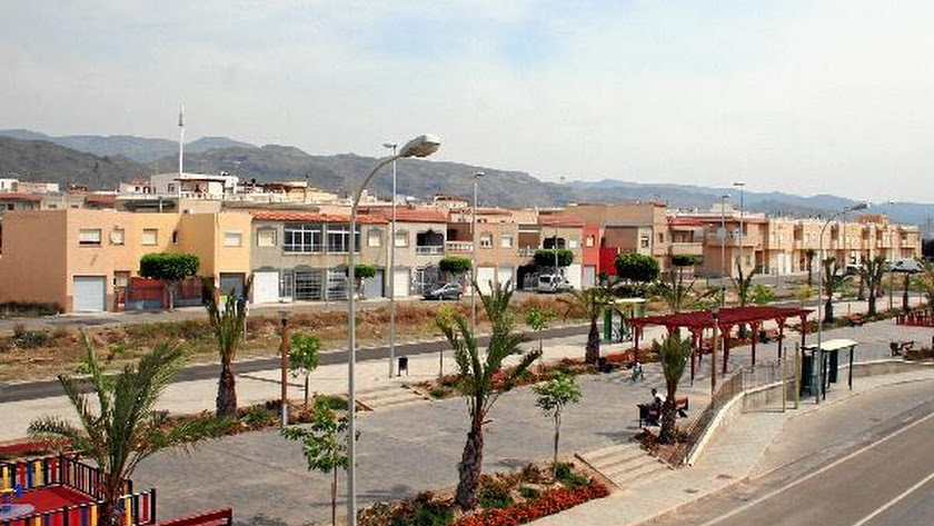 Imagen de archivo de la barriada de la Venta del Viso en La Mojonera.