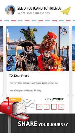 Jigsaw Journey u2013 relajarse, viajar y compartir capturas de pantalla 9