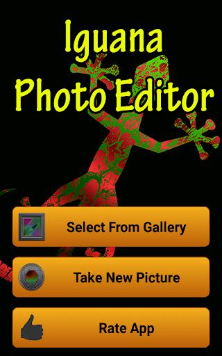 Iguana Photo Editor
