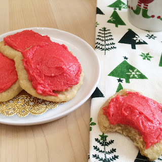 "Lofthouse Style Low Carb ""Sugar"" Cookies."
