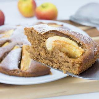 Easy Vegan Apple Cake.