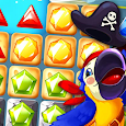 Pirate Treasures - Jewel & Gems Puzzle Pop icon