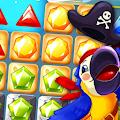 Pirate Treasures - Jewel & Gems Puzzle Pop