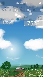YoWindow Free Weather Screenshot 1