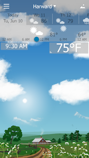 Precise Weather YoWindow Screenshot 1