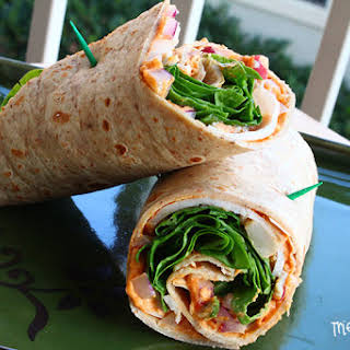 Jason's Deli Mediterranean Wrap.