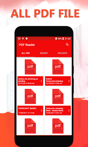PDF Reader for Android: PDF file reader 2018 for PC