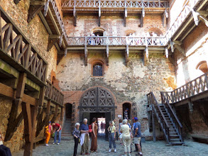 Photo: This is the interior courtyard of the Ducal Palace.