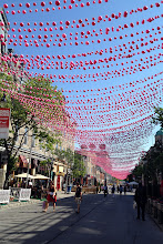 Photo: Pink street in Montreal