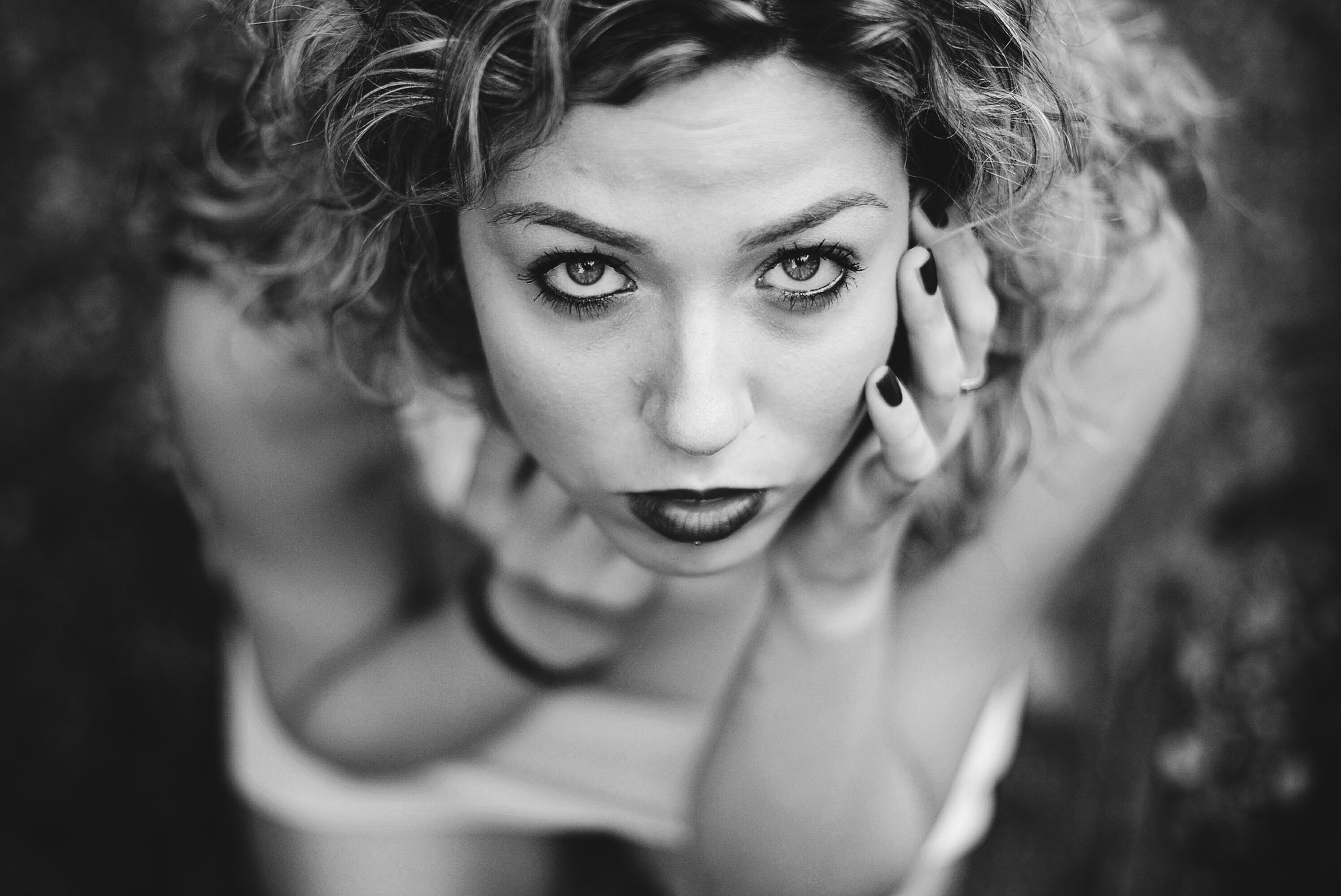 Lo sguardo di una donna di mazzarolo