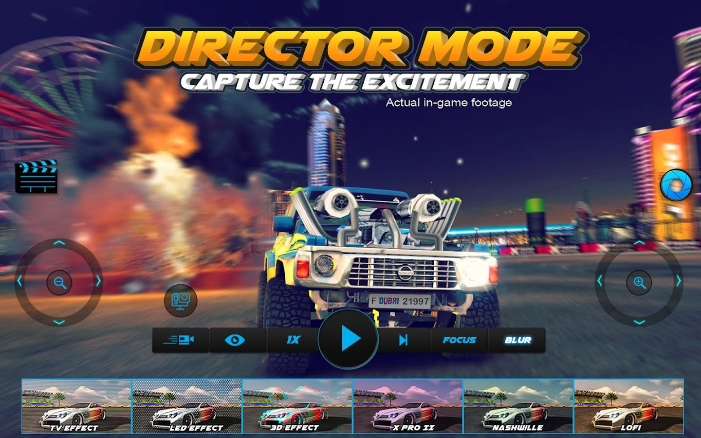 Screenshots of Dubai Drift 2 for iPhone