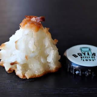 Mini Coconut Macaroons.