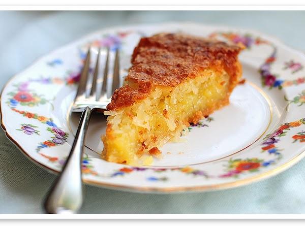 Lisa's French Coconut Pie Recipe