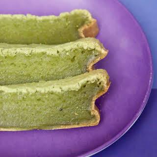 Matcha Mochi Cake.