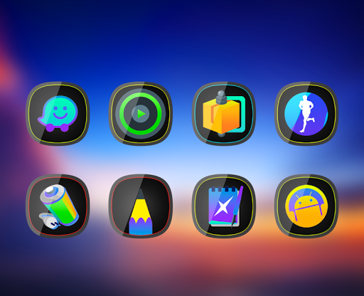 Aplicații Glos - Icon Pack pentru Android screenshot