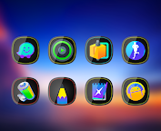 Glos - Icon Pack Apps para Android screenshot