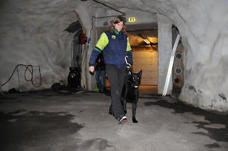 Photo: Vilma på vei inn for å søke