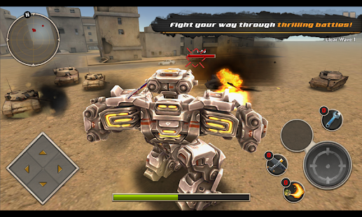 Mech Legion: Age of Robots Screenshot