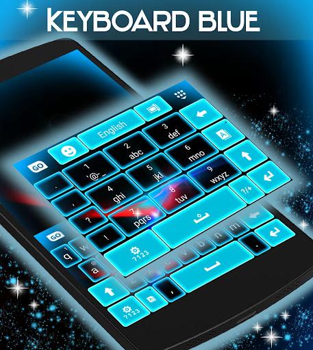 無料个人化Appの青色LEDキーボード|HotApp4Game