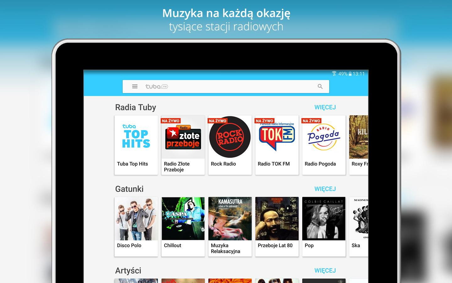 Tuba.FM - free music and radio- screenshot
