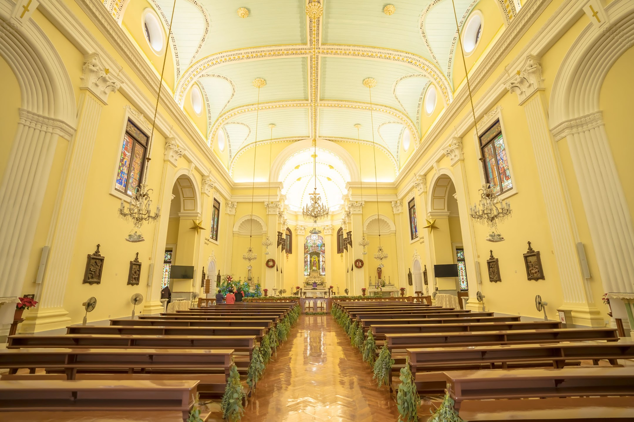 Macau St. Lawrence's Church/聖老楞佐教堂/Igreja de S. Lourenço2