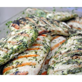 Basil Marinated Grilled Chicken