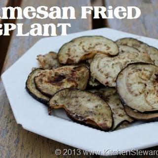 Parmesan Fried Eggplant.